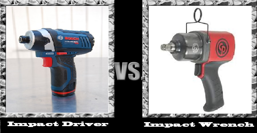 Impact Driver Vs Wrench